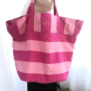 VICTORIA'S SECRET Large Pink Tote/bag/shopper/gym